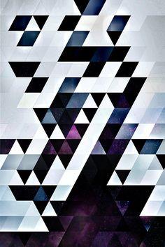 spires:  MODYRN LYKQUYR / pattern art by spires / available @ society6
