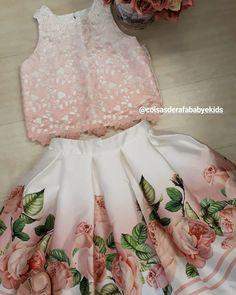Little Girl Skirts, Dresses Kids Girl, Kids Outfits, Flower Girl Dresses, Cute Kids Fashion, Little Girl Fashion, Tandoori Masala, Baby Frocks Designs, Princess Dress Kids