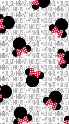 Minnie mouse heads and bows fabric to sew. this print shows images of minnie mouse heads with bows tossed on white background with the words Cartoon Wallpaper, Wallpaper Do Mickey Mouse, Phone Wallpaper Images, Disney Phone Wallpaper, Cute Wallpaper Backgrounds, Cellphone Wallpaper, Cute Wallpapers, Iphone Wallpaper, Scrapbook Da Disney