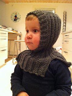 crocheted hat - a balaclava