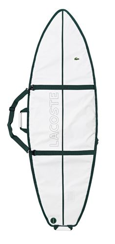 The Lacoste Lab Surf Bag. Engineered by NOTOX and designed by J.P. Stark.