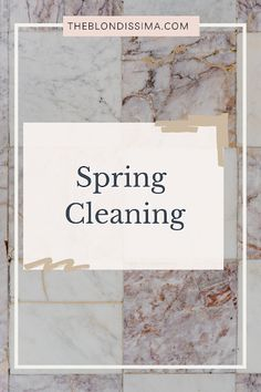 Spring Cleaning - The Blondissima Oven Cleaner, Grout Cleaner, Bissell Steam Mop, The Home Edit, Tidy Up, Carbon Footprint, Kitchen Flooring, Spring Cleaning, Vintage Designs