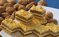 Druh receptu: Sladkosti - Page 7 of 330 - Mňamky-Recepty. Sweet Recipes, Cake Recipes, Sweets Cake, Food Cakes, Sweet Tooth, Food And Drink, Cooking Recipes, Gem, Treats
