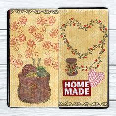 Kutomukset Vintage World Maps, Journal, Homemade, Art, Art Background, Home Made, Kunst, Performing Arts, Hand Made