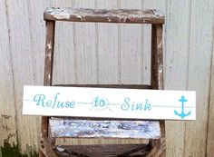 Nautical Wood Signs, Pallet Art, Nautical, Beach House this listing is for one nautical sign
