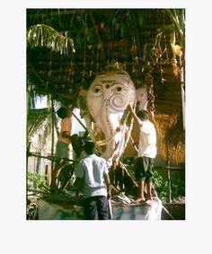 Click to enlarge Fairs And Festivals, Workshop Organization, Indian Heritage, Chennai, Worship, Idol, Display, City, Beach