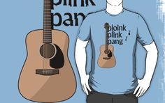 I am getting better at guitar these days. Slightly. But I still think many novice guitar players will know what this shirt is about