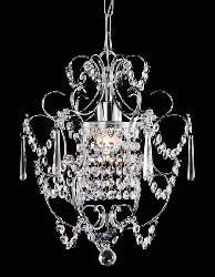 Chrome Crystal Chandelier - Overstock Shopping - Great Deals on Chandeliers & Pendants