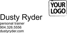 Customized Logo Address Business Card Stamp