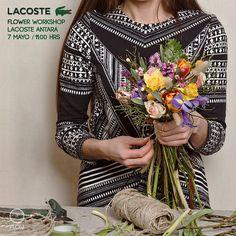 Hoy toca workshop en la tienda @lacoste de Antara Polanco para conocer su nueva colección Soft Sun #letitflow #lacostemx #LifeIsABeautifulSport