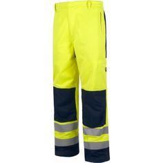 Pantalón alta visibilidad con refuerzos, Referencia  B1492 Marca:  WorkTeam  Pantalón alta visibilidad con refuerzos, ignífugo, tejido modacrílico, algodón y antiestático. EN ISO 11611, EN ISO 11612, EN1149, EN61482, EN ISO 20471.