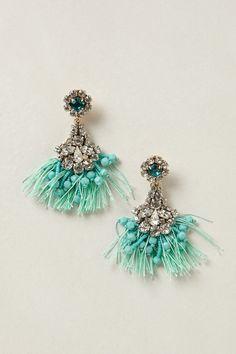 NEED!!!! Melusina Tassel Earrings - Anthropologie.com