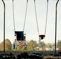 disabled swing