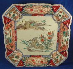 Japanese Imari ware:  Love this piece.