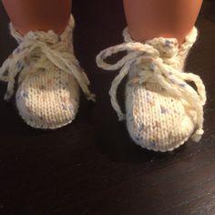 Gebreide babyschoentjes