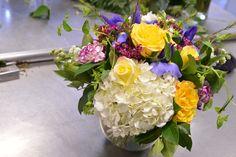 Hydrangea is what your arrangement needs today!