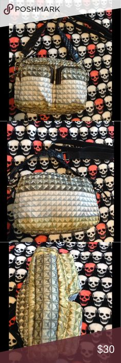 Super cool LAMB purse Perfect for summer! This cool bag was designed by Gwen Stefani so u know it's hella awesome. Adjustable & removable strap. It's nylon, so it's very light weight. L.A.M.B. Bags Crossbody Bags
