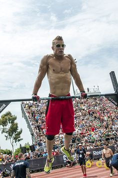 Power and Pace | CrossFit Games -- showing a little personality on the bar