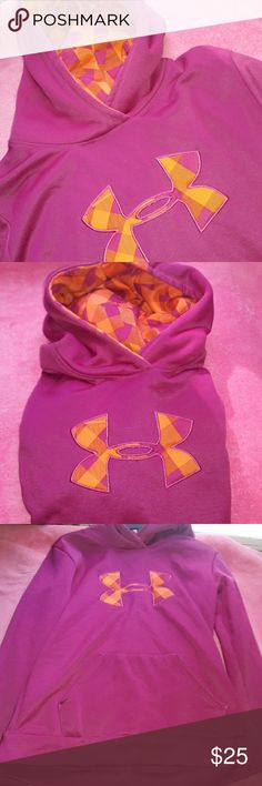 Girls Under Armour Hoodie YLG *BEST OFFER* ♡♡♡♡♡♡♡♡♡♡♡♡♡♡♡♡♡♡♡♡♡♡♡♡♡  ~AMAZING Girls Under Armour Hoodie YLG !!   Reason for Selling: PRE OWNED LOOK AT PICS  Size: Kid's YL (look at last pic)  Colors: (look at pics) pinkish, purple, orange  Condition: worn a few times look at pics !!!   note *look at all pictures before purchasing*;)    THIS MUST GO ASAP! WILL BE MOVING SO, FEEL FREE TO BEST OFFER, AND LEAVE FEEDBACK! thank you SOOOO much for reading. -❤:) ♡FEEL FREE to ask any questions and…