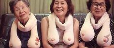 Hahaha yes! Boob scarves!