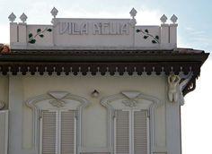 www.italialiberty.it - Villa Adelia, già Villa Dorina 1905. Via Dati 14, Viserba di Rimini.