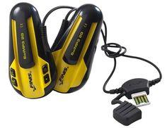 Underwater headphones for swimmers... $116.95  http://www.waycoolgadgets.com/underwater-headphones/  #swimming #headphones