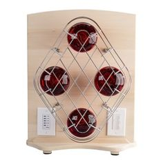 Feel warmth instantly (Infrared bulbs included) Auto shut off/Count down timer/Light selector Portable Sauna, Red Light Therapy, Infrared Sauna, Wine Rack, Bulb, Comfy, Lights, Minimalist Bedroom, Yurts