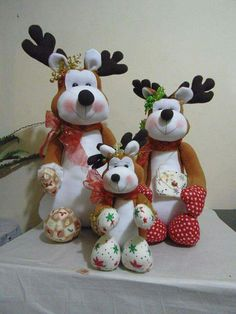 Christmas Gnome, Christmas Projects, Felt Crafts, Diy And Crafts, Reindeer, Snowman, Biscuit, Amigurumi Patterns, Teddy Bear