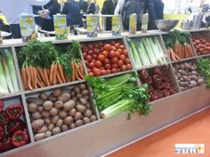 Verduras. Hortalizas. #vegetables. #Alimentaria2014 #food #comida