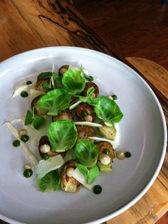 Chef Zach Meloy of Better Half shares his warm Brussels sprouts salad recipe on Hot Dish Review!
