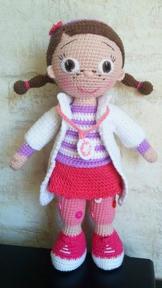 Amigurumi doctor crochet pattern