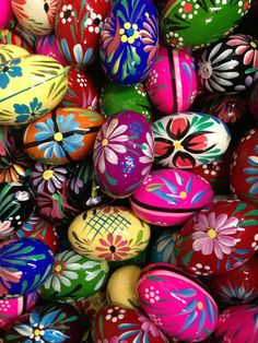 Krakus Market-Polish Easter Eggs, had an art teacher that could make these. She was Polish.