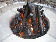 Ceramic Logs For Gas Fire Pit Modern Lovely Best Pertaining To 6 pertaining to measurements 3072 X 2304 Gas Fire Pit Logs - Have you noticed the wide Gas Log Fireplace Insert, Primitive Fireplace, Fireplace Inserts, Gas Fire Logs, Gas Fires, Steel Fire Pit, Fire Pits, Fire Pit Designs, Fire Bowls