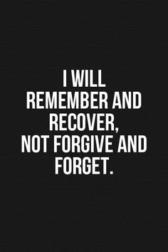 Image result for i will remember and recover