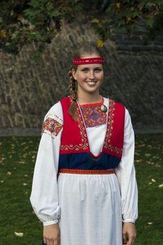 Finnish Carelian folk dress, The Tuuteri dress | Tuuterinpuku - Vuodatus.net