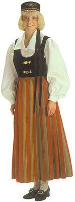 Viipurin pitäjän naisen kansallispuku Folk Costume, Costumes, Traditional Dresses, Different Patterns, Folklore, Female, Outfits, Clothes, Vintage