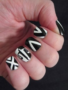 Be brave nail art blog divergent and divergent nails bizarre obsessions divergent nails series candor prinsesfo Image collections