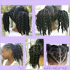 Twists and Twist Out with Criss Cross cornrows in the front. #SdestraHairJourney#Sdestra #NaturalHair #NaturalHairJourney #HairJourney #HealthyHair #HealthyHairJourney #HealthyHairCare #ChildrensNaturalHair #KidsNaturalHair #NaturalHairChildren #NaturalHairKids #HairTwists #NaturalHairTwists #NaturalHairStyles #LittleGirlWithLongHair