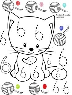 Graphing Activities, Printable Preschool Worksheets, Kindergarten Math Worksheets, Numbers Preschool, Preschool Math, Abc Coloring Pages, Activity Sheets For Kids, Simple Math, Letter A Crafts