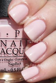 OPI 'I Love Applause' Swatch | Muppets Most Wanted Collection, 2014