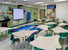 KI recently teamed up with the Leap Academy STEM Charter School to advance the transformation of the school's traditional classrooms to engaged learning spaces. Classroom Furniture, School Furniture, Innovative Architecture, School Architecture, Learning Spaces, Learning Environments, Stem Classes, Diy Classroom Decorations, First Grade