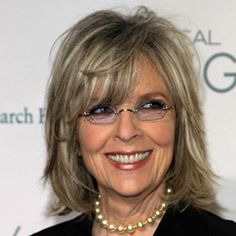diane keaton hairstyles front side and back | Diane Keaton Hairstyles - Pictures of Diane Keaton's Hair - Real ...
