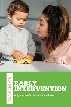 Early intervention is important because it is effective and efficient. Research backs this up! When we compare the difference between language milestones and language averages at 12,18, 24, and 36 months we can see how the gap widens. Early intervention can close the gap!