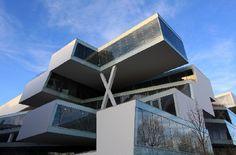 Architectura - Kantoorgebouw Herzog en de Meuron in Allschwill opgeleverd