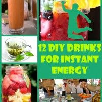 12 DIY Drinks for Instant Energy