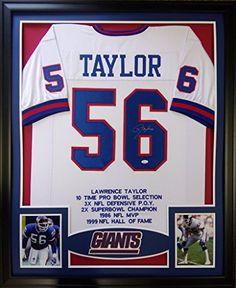 Lawrence Taylor Framed Stat Jersey Signed JSA COA Autographed New York Giants Mister Mancave http://www.amazon.com/dp/B00WIDE0R6/ref=cm_sw_r_pi_dp_b8-rwb0TQ84TP
