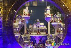 Vitrinas navideñas de Nueva York