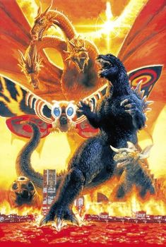 Old Posters, Movie Posters, Live Action, Mothra Movie, Attack Movie, Poster Art, Look Retro, Vintage Poster, Illustration