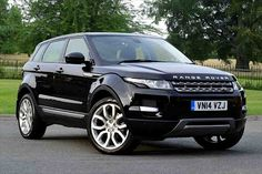 Craig's new car-  Range Rover Evoque- in Santorini Black