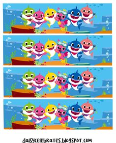 Whose kids are into Baby Shark? It seems like every kid and parent that I know of, can sing the… Shark Birthday Cakes, 2nd Birthday Parties, Baby Birthday, Used Baby Items, Baby Shark Doo Doo, Shark Party, Free Baby Stuff, Preschool Crafts, First Birthdays